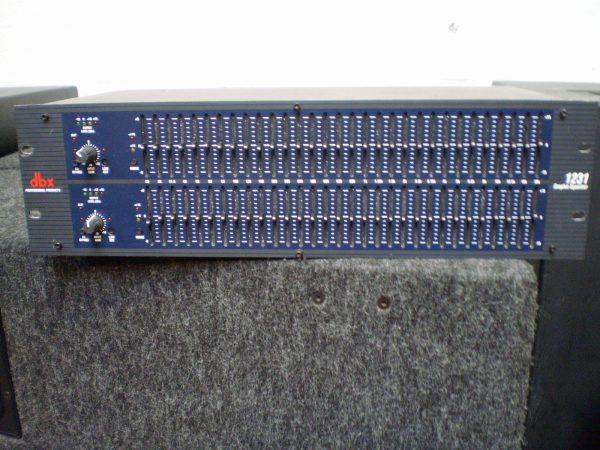 DBX 1231 égaliseur graphique